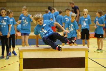 Polysportiver Ferienspass mit Basketball in den «fit4future» Camps